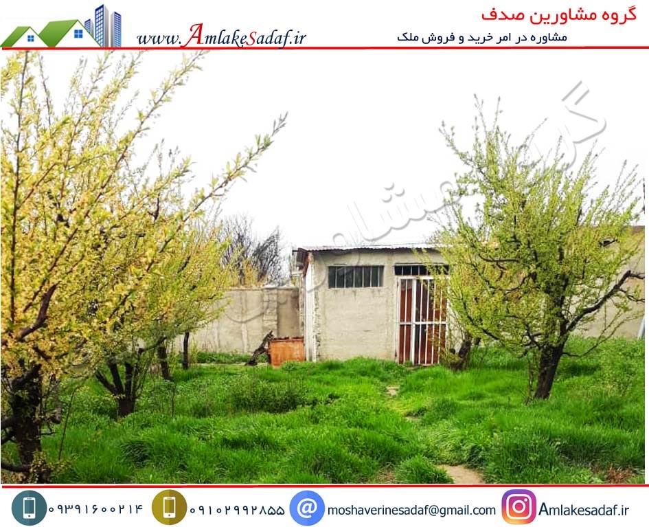 فروش باغچه 300 متری محصور در تهراندشت